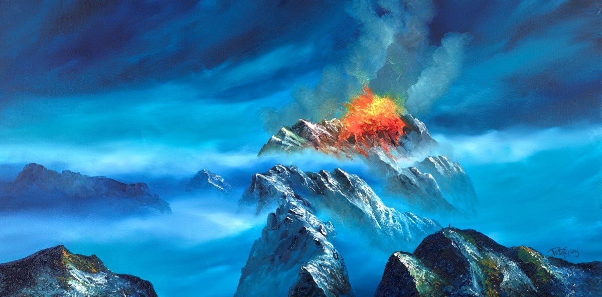 Eruption  by Philip Gray -  sized 48x24 inches. Available from Whitewall Galleries